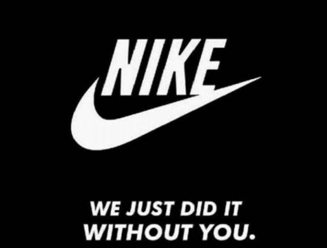 Without Nike