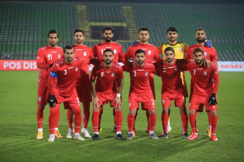 Team Melli Against Bosnia