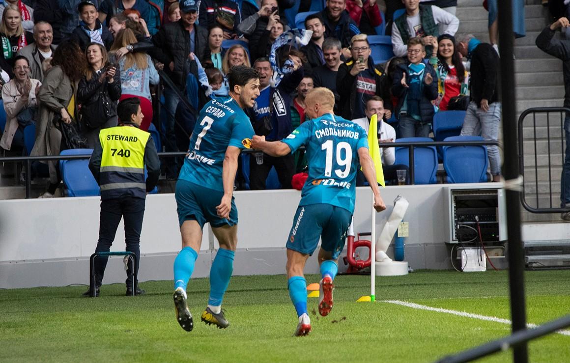 Azmoun Nets Brace as Zenit Loses to Lokomotiv in Super Cup [VIDEO ...