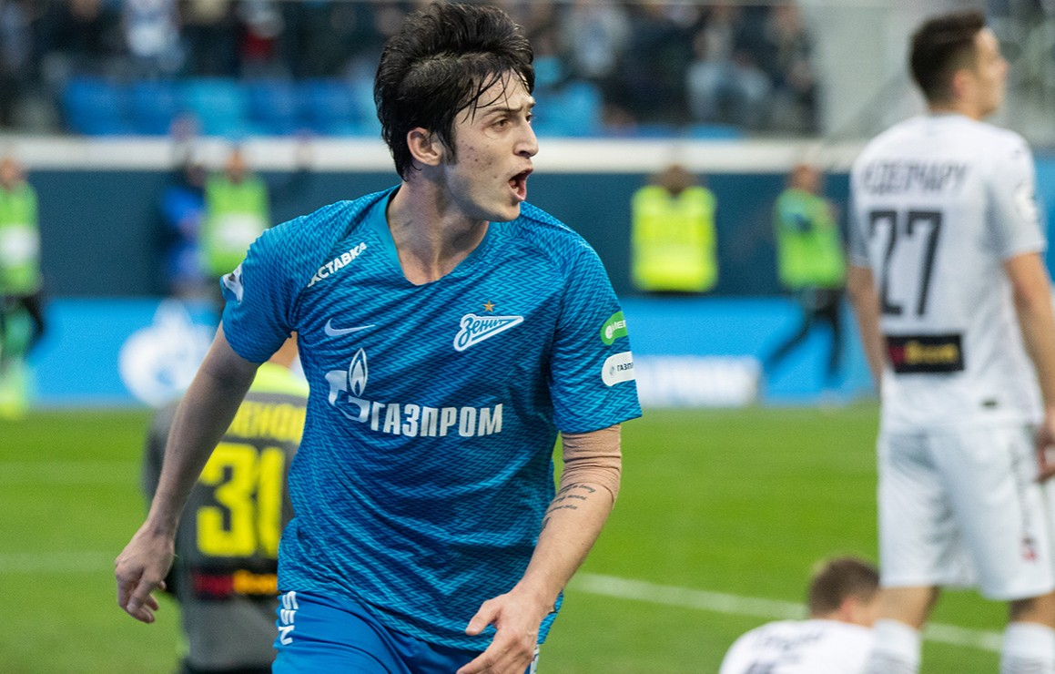 Image result for sardar azmoun zenit