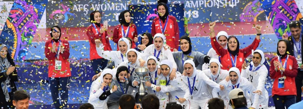 Pushing IRIB Aside, Futsal Games Will Go on IPTV