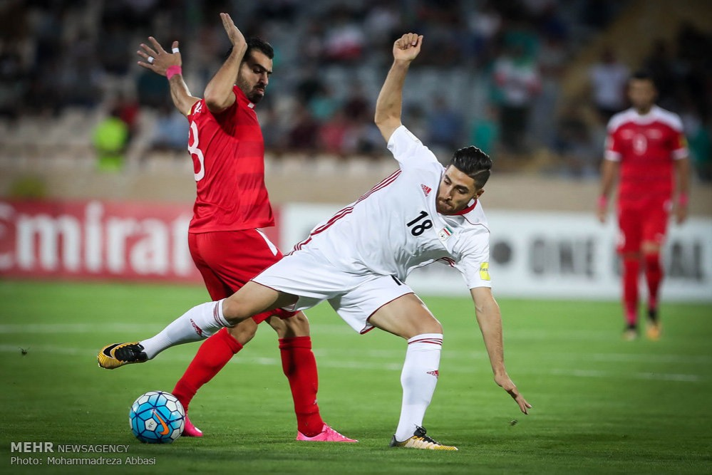 Iran Syria friendly