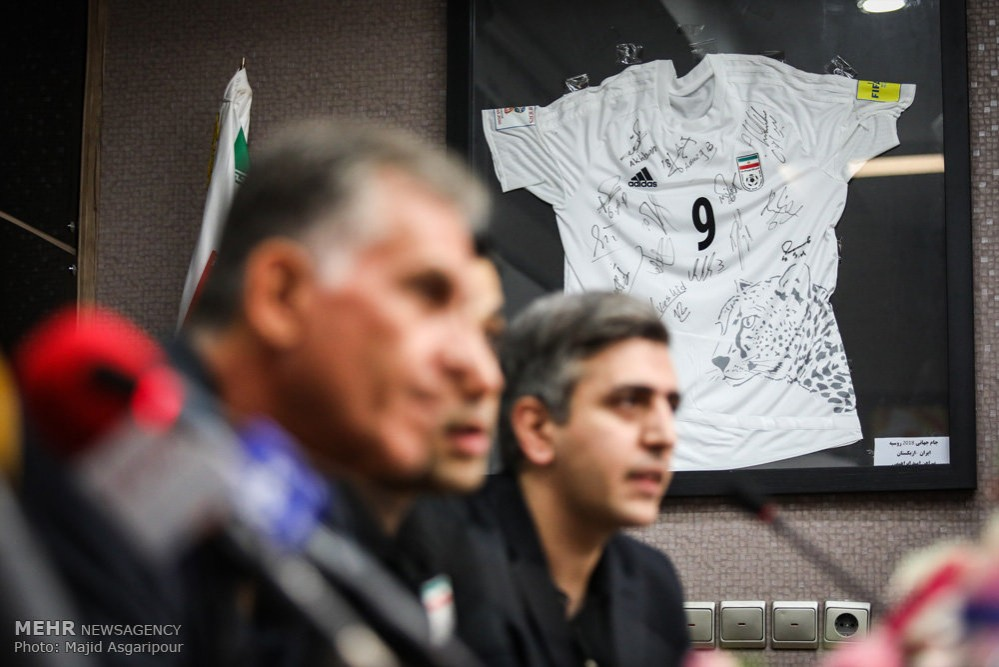 more photos 9362a bb777 Iran to unveil World Cup kit on Thursday - PersianLeague.Com ...