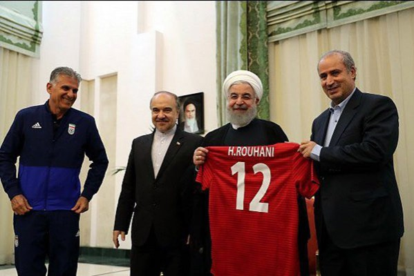 Hassan Rouhani - Team Melli