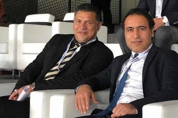 Ali Daei and Mehdi Mahdavikia