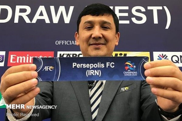 2020 Acl West Quarters Persepolis To Meet Pakhtakor Persianleague Com Iran Football League