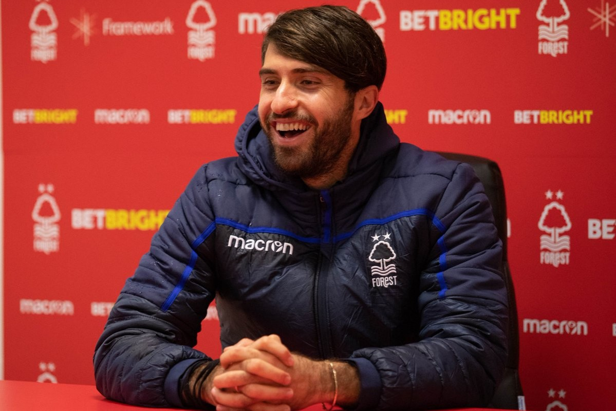 Nottingham Forest striker Karim Ansarifard