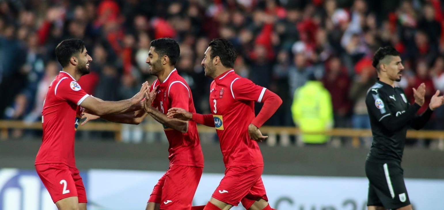 Afc Champions League Persepolis Fc 1 0 Al Sadd Sc Video Persianleague Com Iran Football League