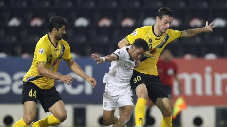 Acl Sepahan Defeat Al Sadd To End Afc Champions League Campaign In Style Persianleague Com Iran Football League