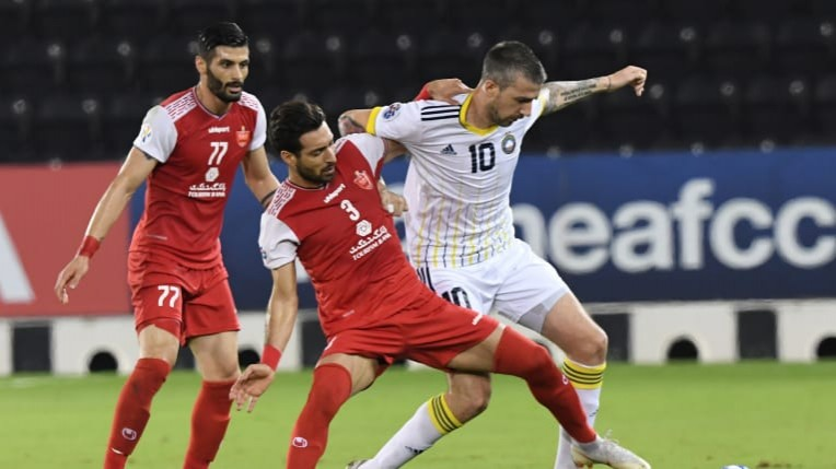 Acl Persepolis See Off Pakhtakor To Book Afc Champions League Semi Final Berth Persianleague Com Iran Football League