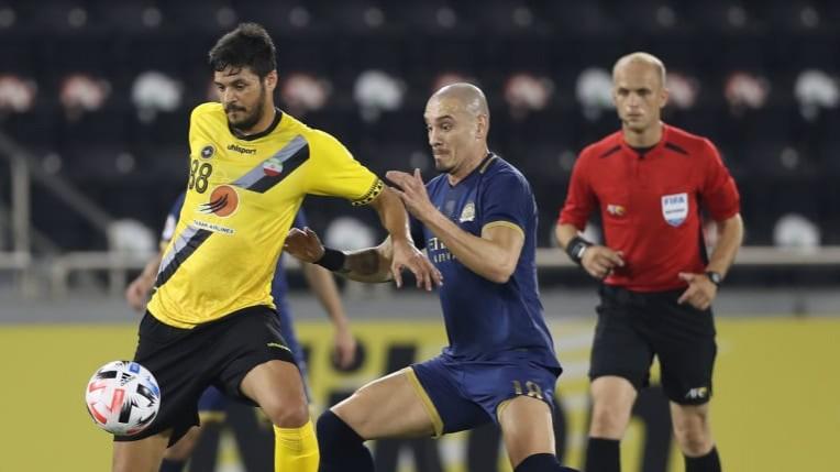 Acl Hamdallah Stars As Al Nassr See Off Sepahan Fc Persianleague Com Iran Football League